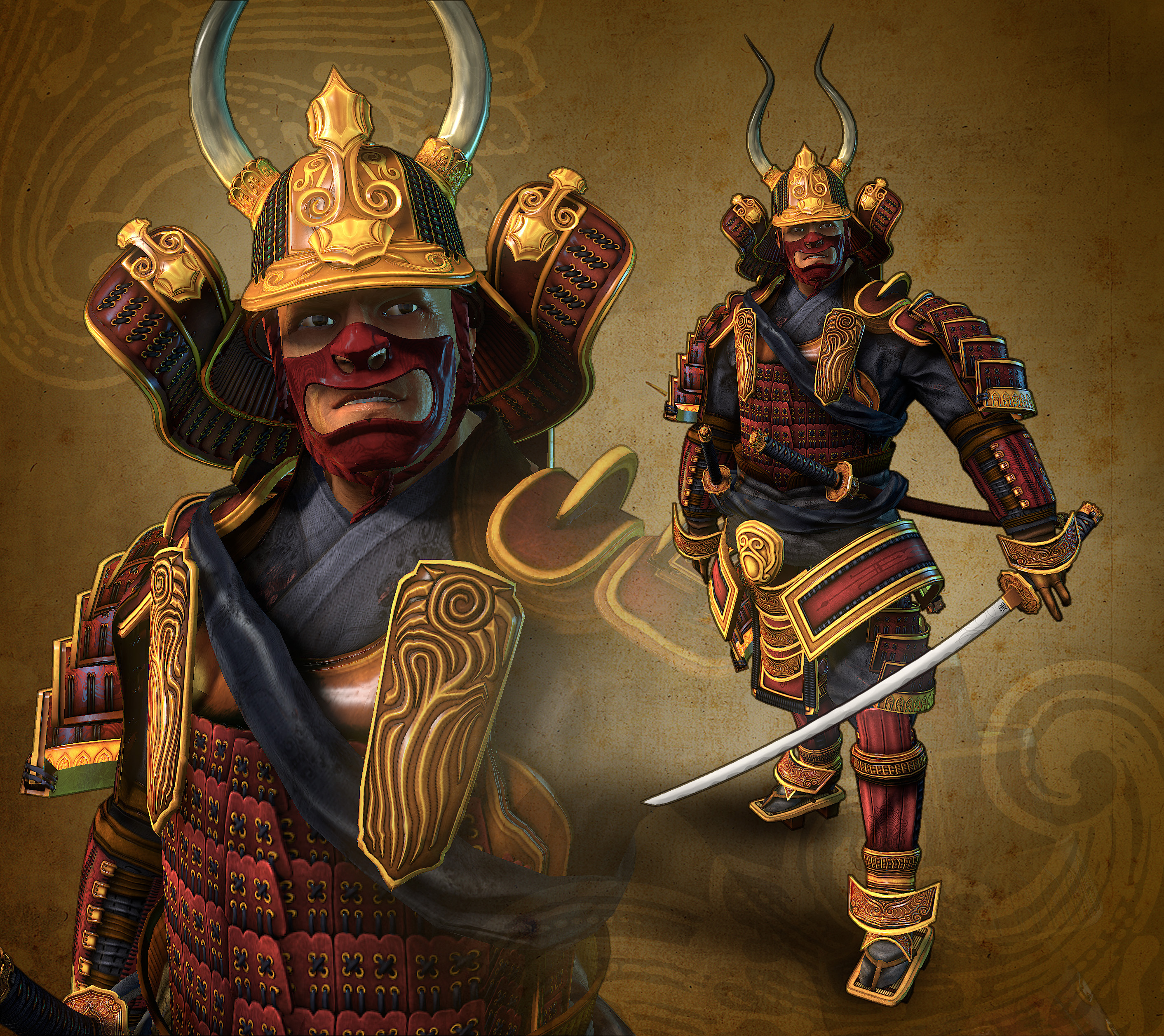 lotus samurai jackson robinson 3d 2d artist aka onelunglewis